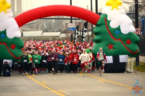 Photo from Ugly Sweater Run's Pinterest
