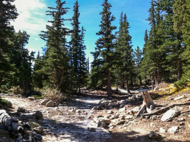 St. Mary's Glacier Hike Colorado Idaho Springs Beginner Hiking 3