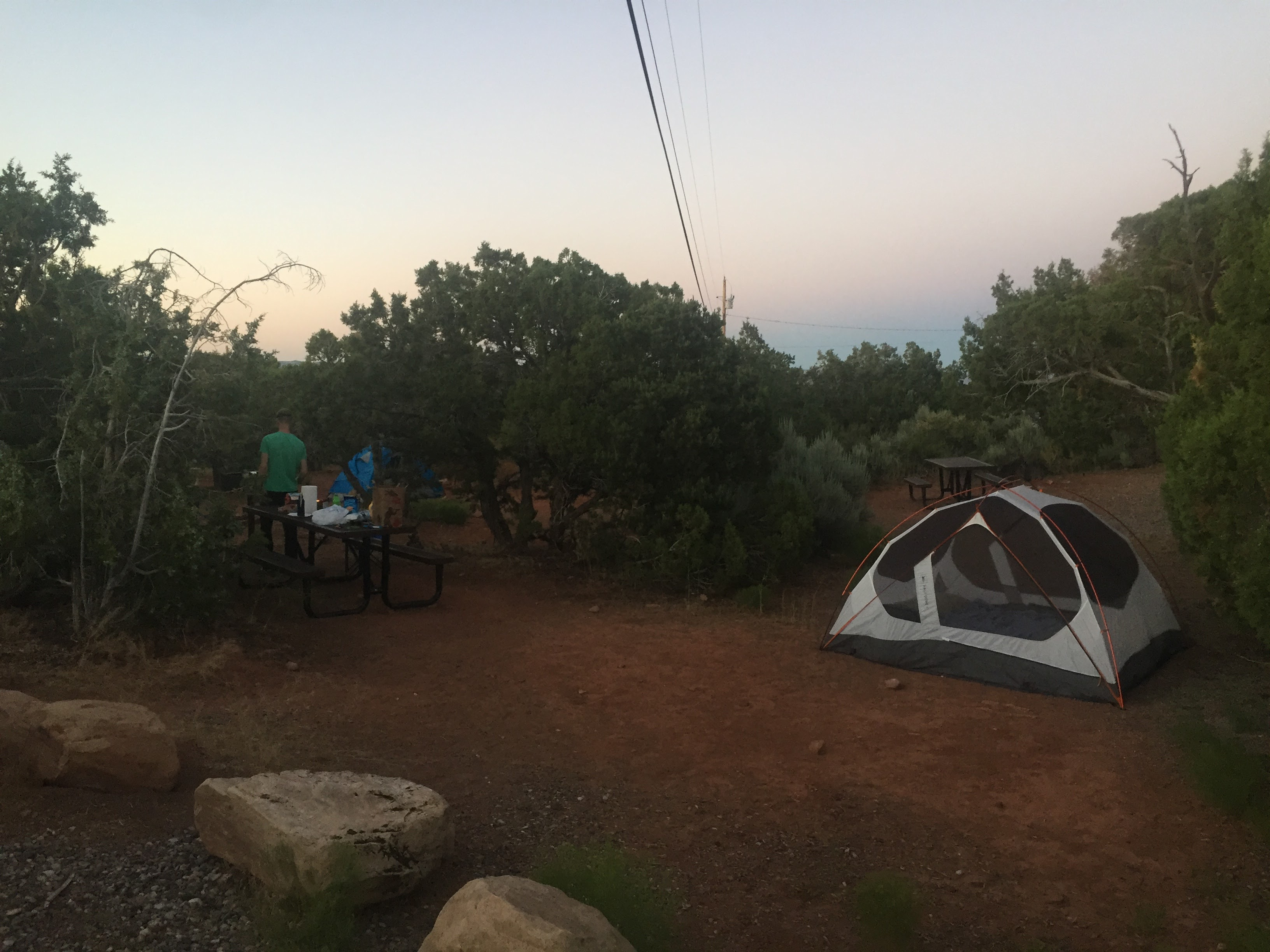 Camping at Colorado National Monument Saddlehorn Campground 3