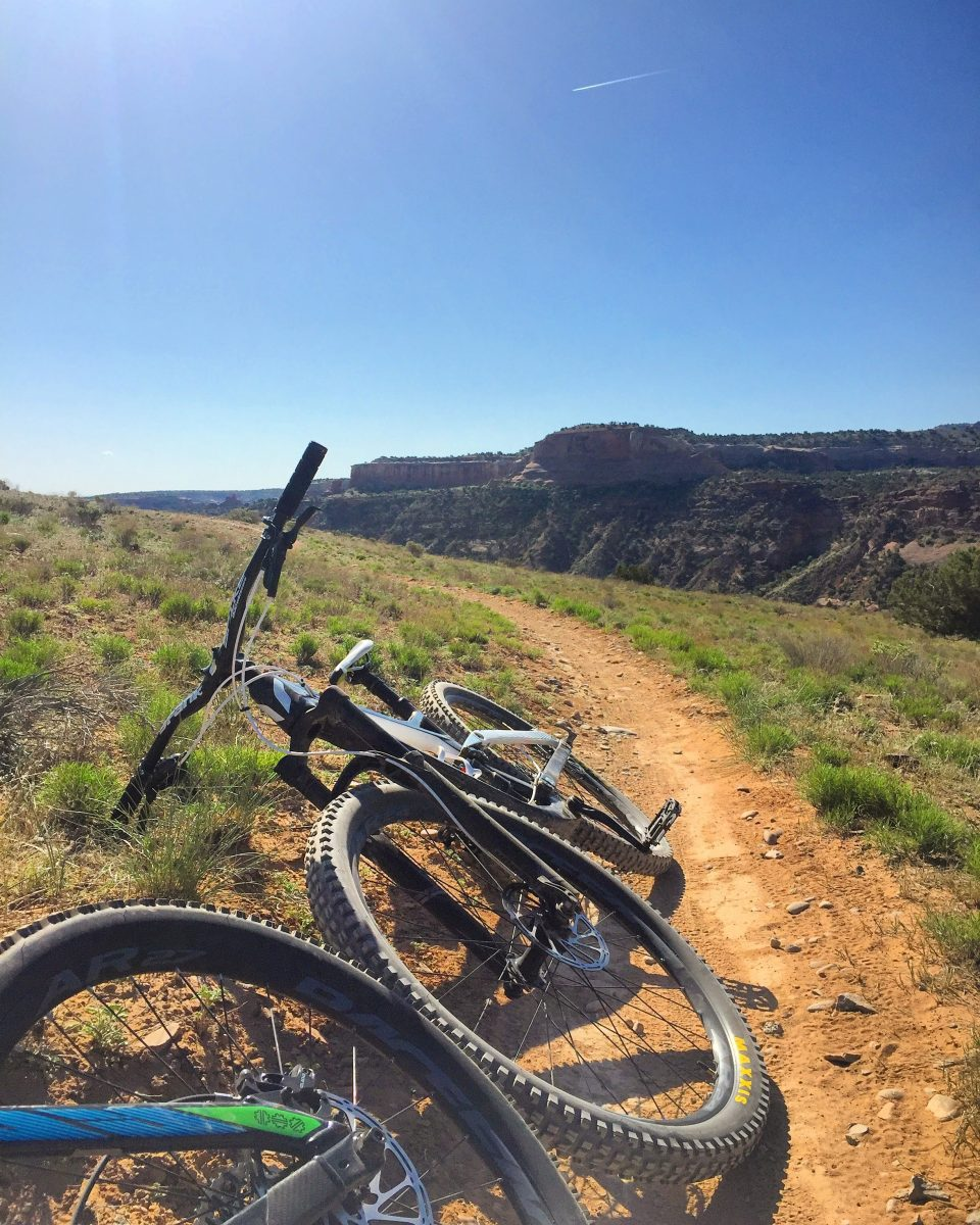 beginner mountain biking trail