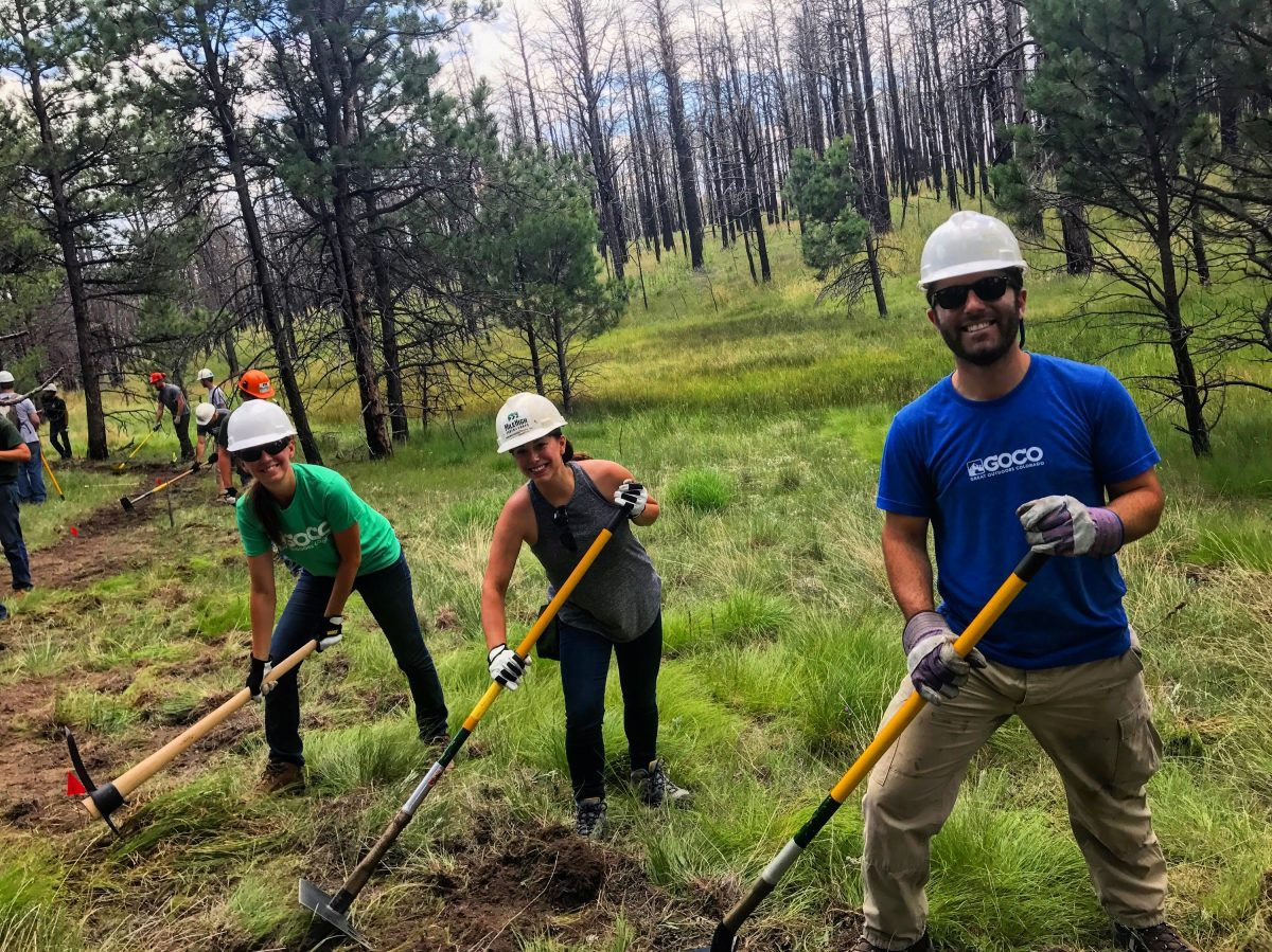 volunteer trail maintenance colorado