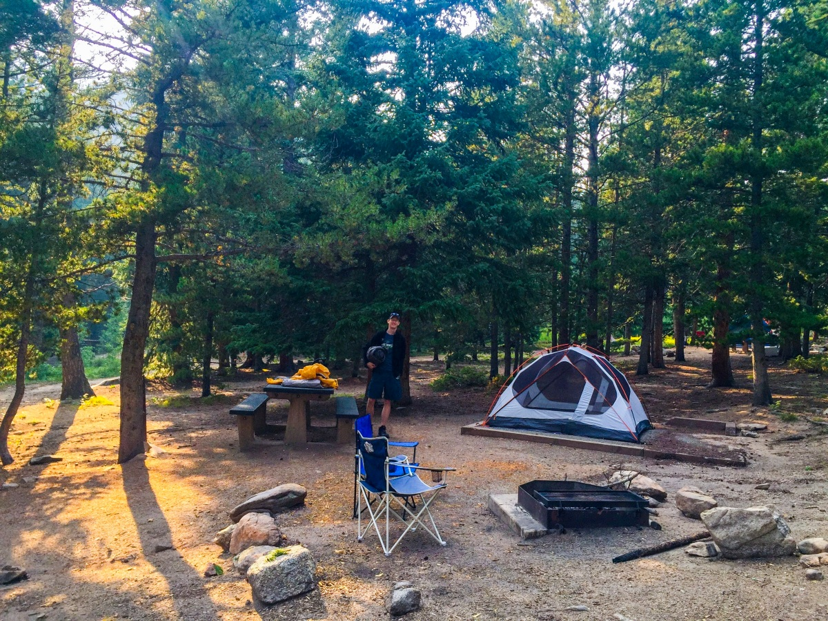 beginner's campground guide: aspen meadows in golden gate canyon