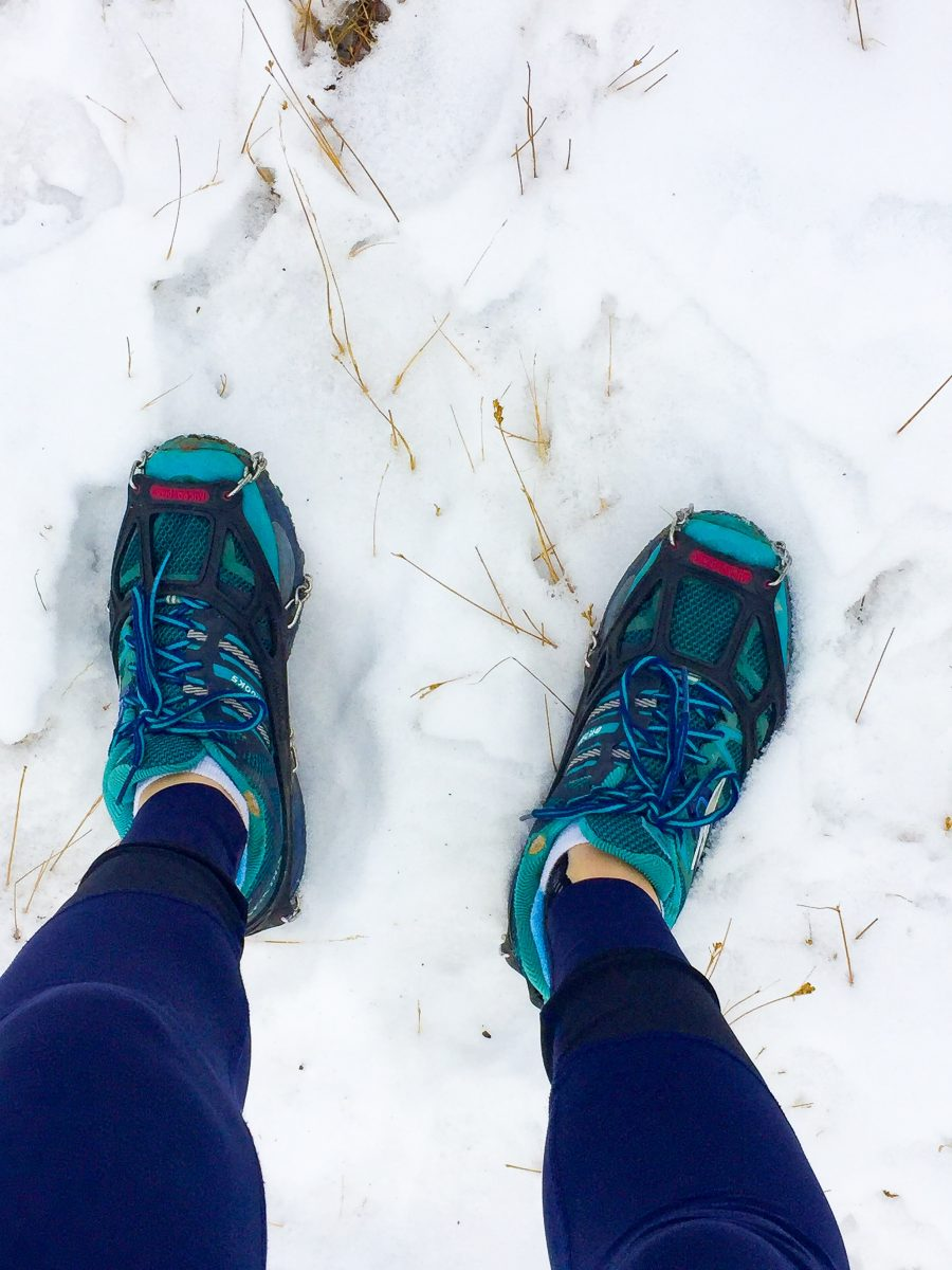 kahtoola microspikes traction for winter running