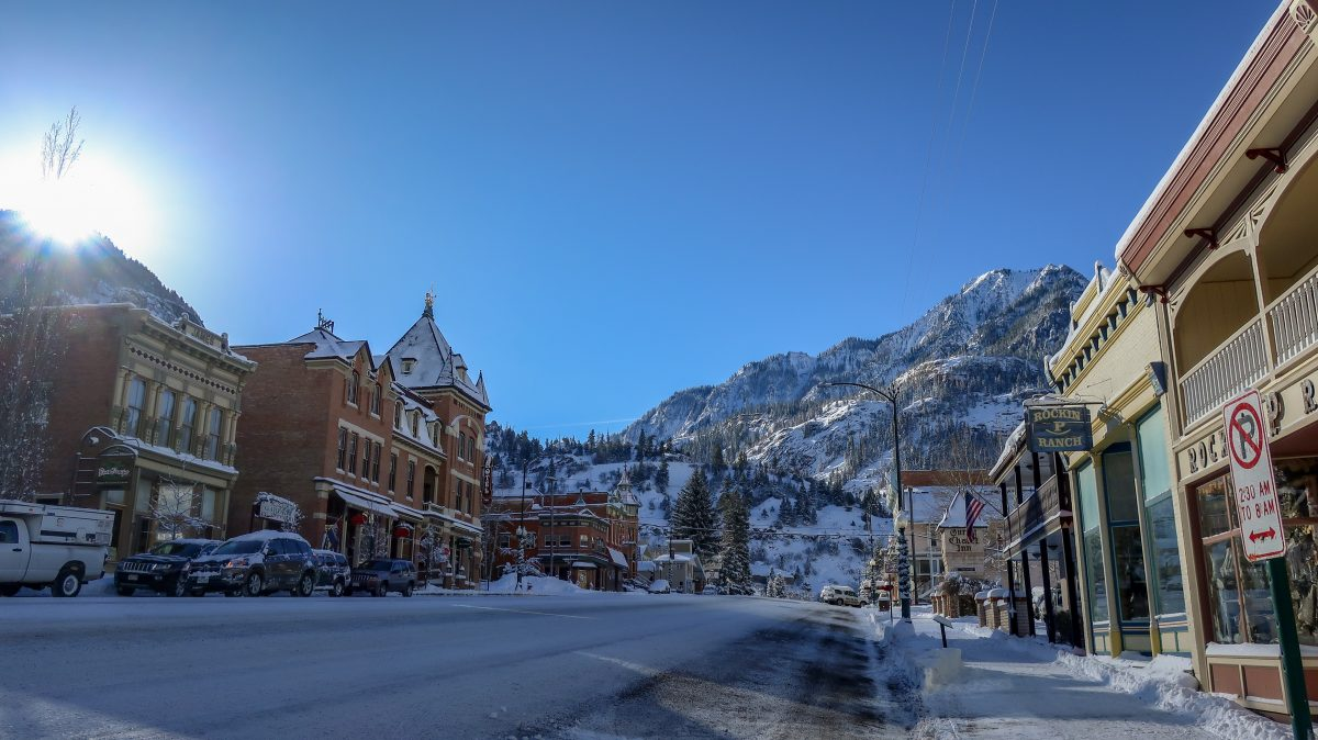 main street in ouray colorado