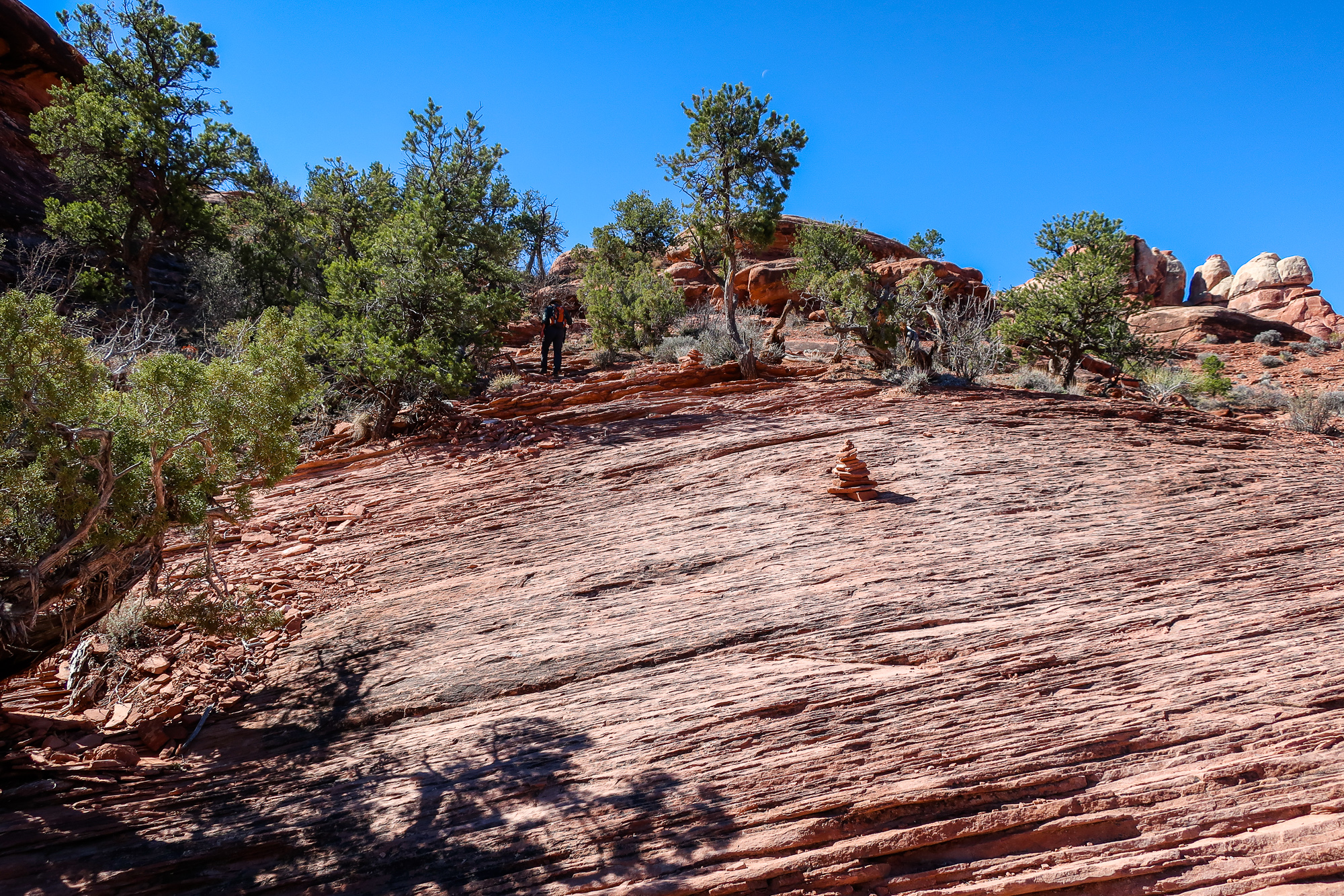 druid arch elephant hill beginner trail guide hiking canyonlands needs alrea
