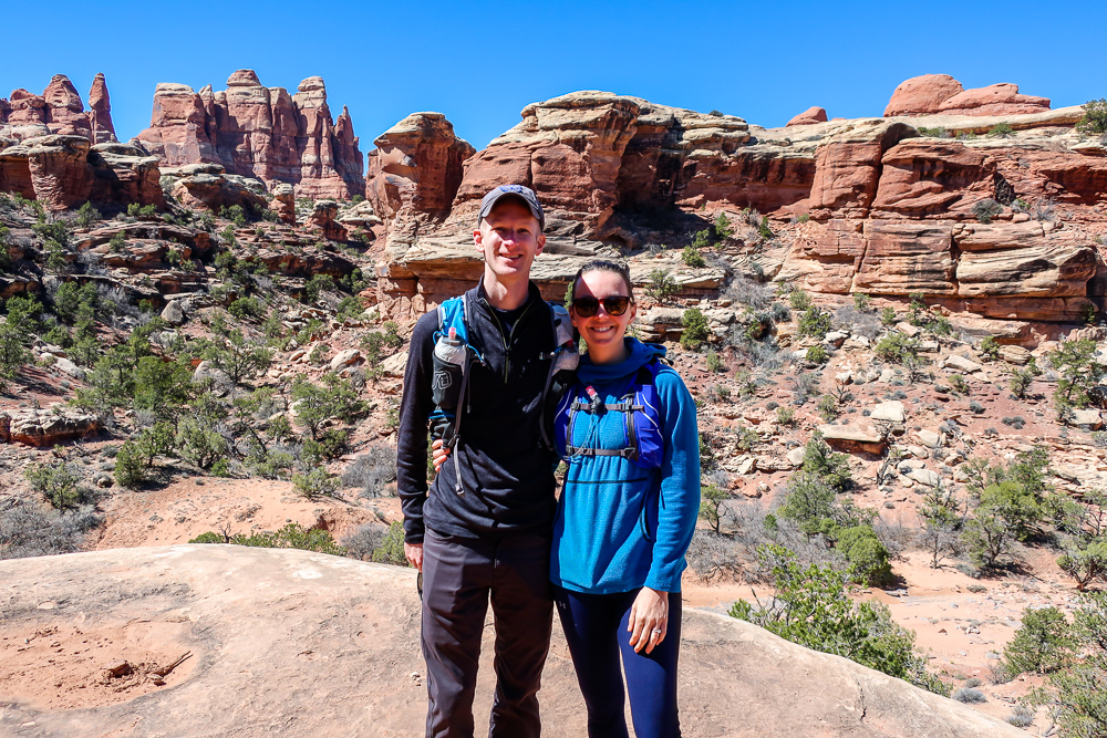 druid arch elephant hill hike canyonlands national park beginner guide