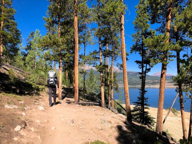 interlaken trail near leadville buena vista twins lakes colorado trail guide